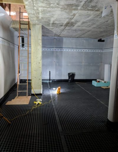 Waterproofing a basement in North London image4