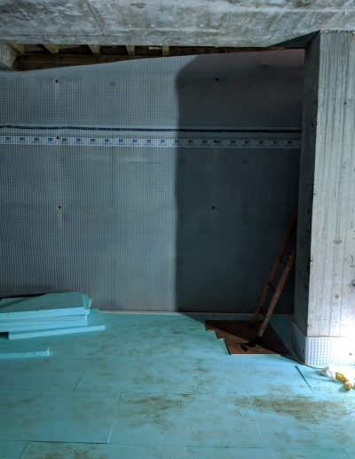 Waterproofing a basement in North London image5