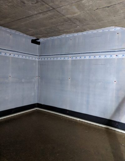 Waterproofing a basement in North London image9